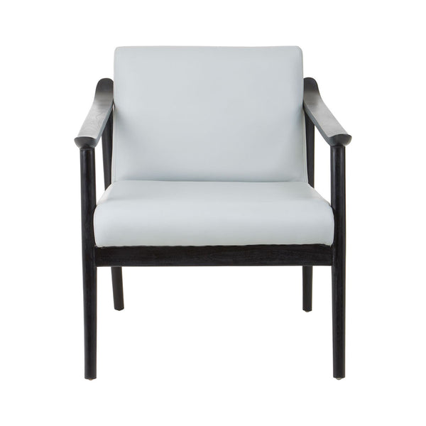 Oslo Grey Leather Armchair