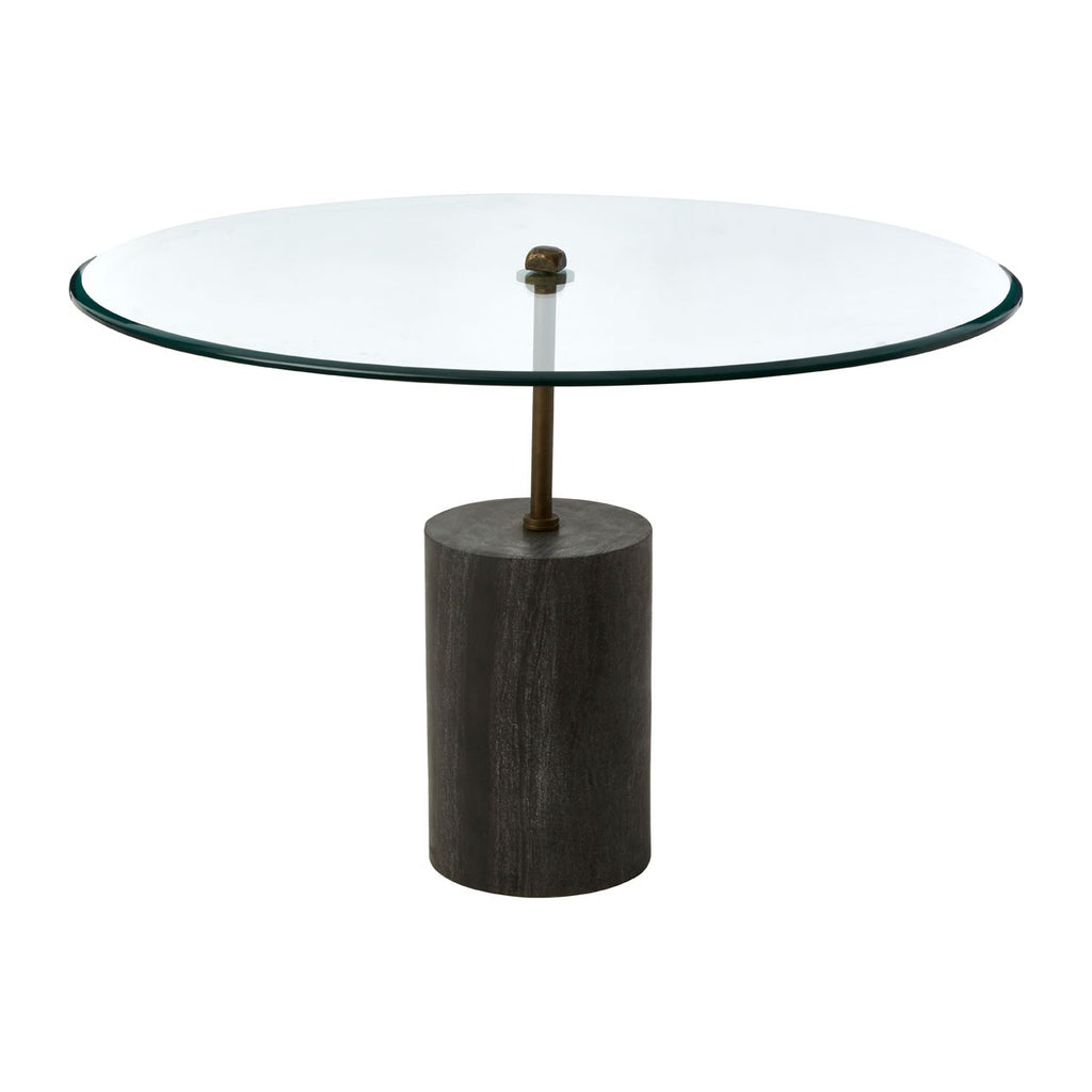 Elliott Glass Side Table