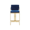 Loewes High Back Stool