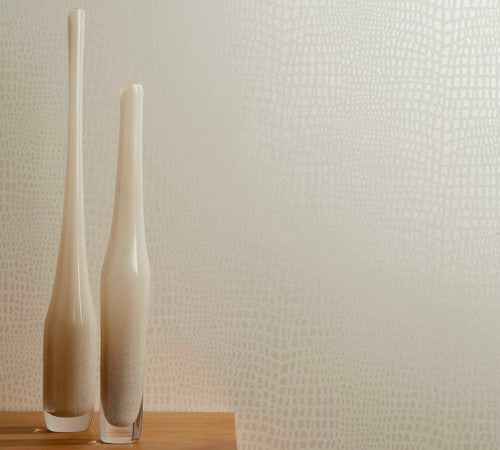 Crocodile Skin Effect Wallpaper in various colours