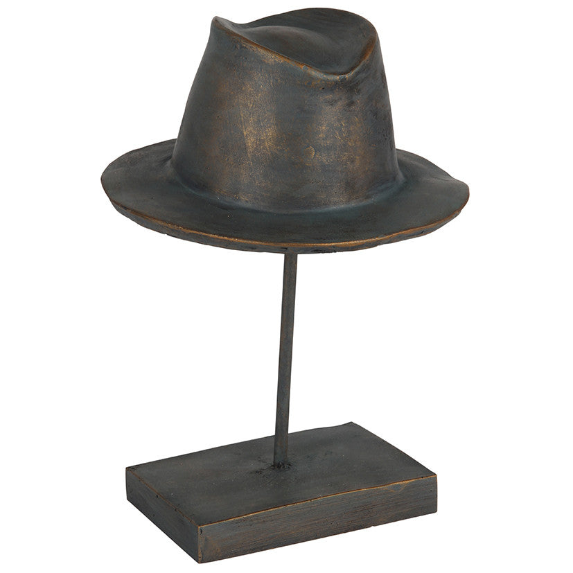 Trilby Hat Ornament - Sold Out