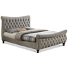 Louise Deep Button  Bed