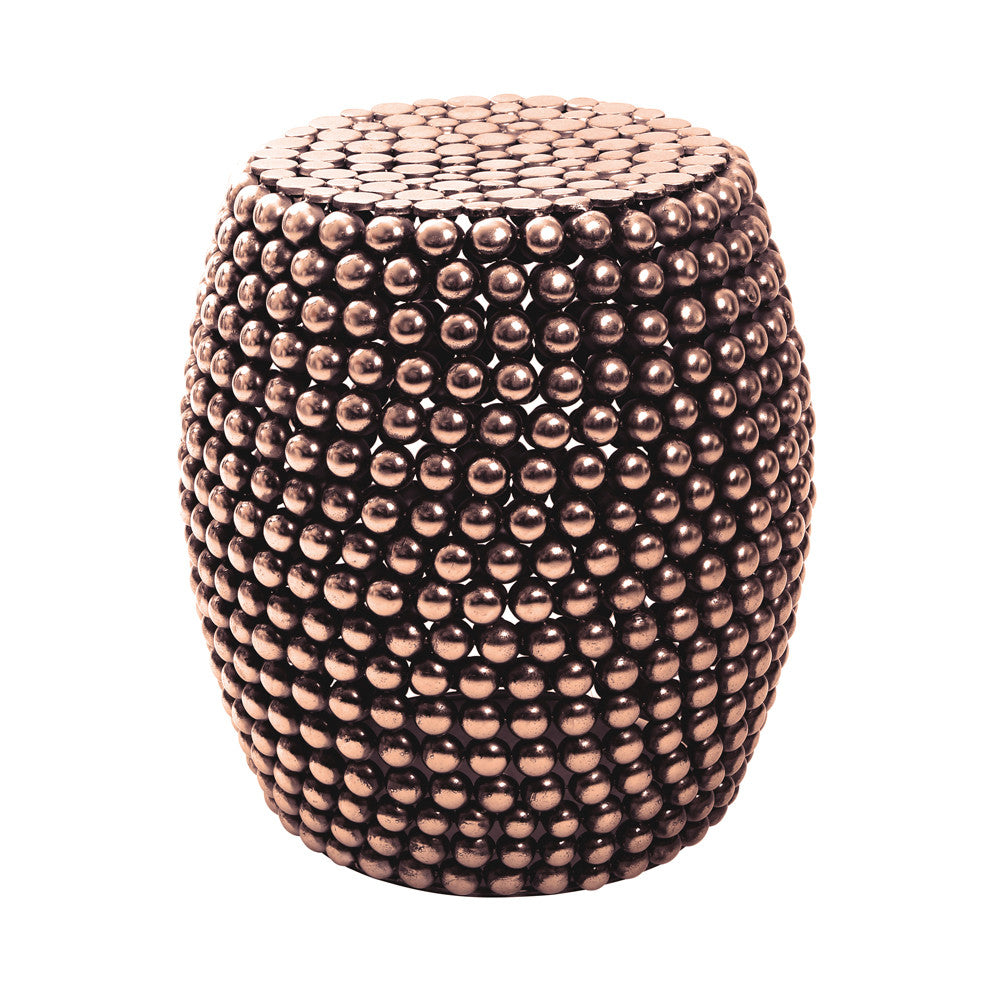 Copper Drum Side Table As Seen in Living Etc