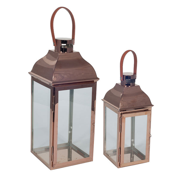 Copper Metal Lanterns