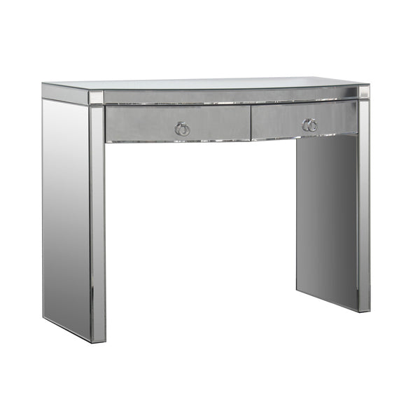 Curved Mirrored Console