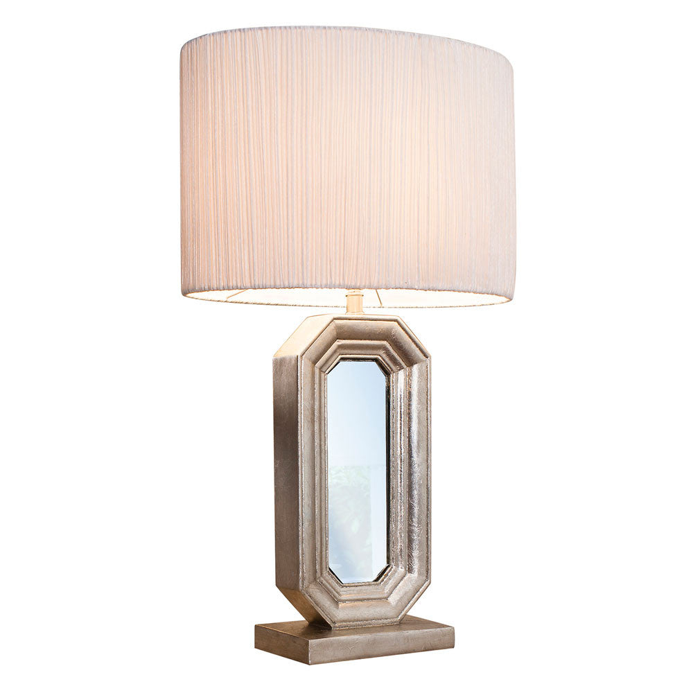 Elegant Mirrored Table Lamp