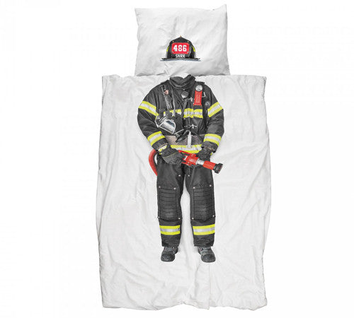 Fire Fighter Bedding Set