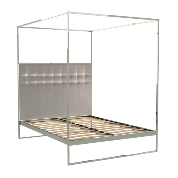 Barrister Canopy Bed Chrome