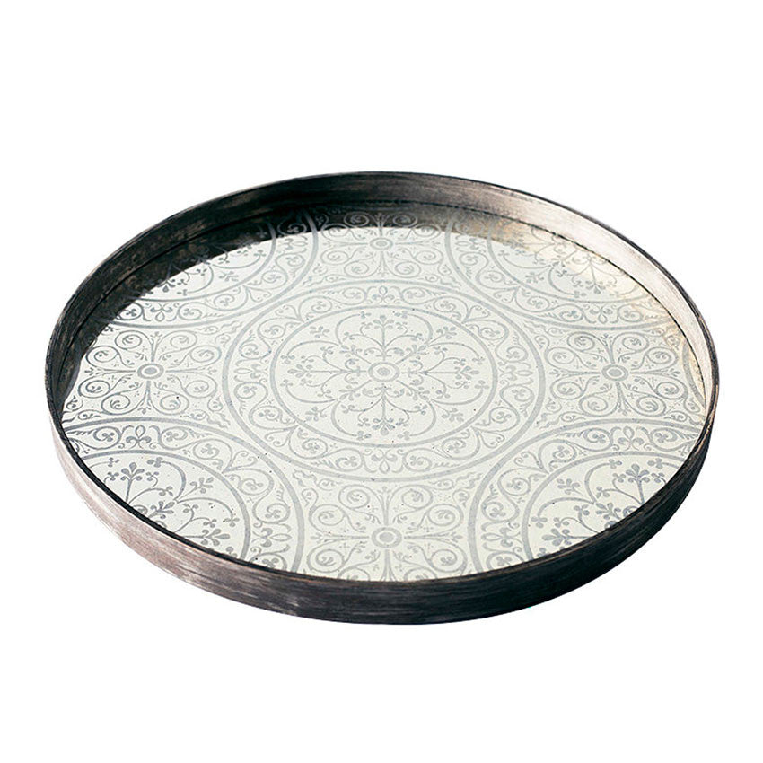 Moroccan Mirrored Tray - Large