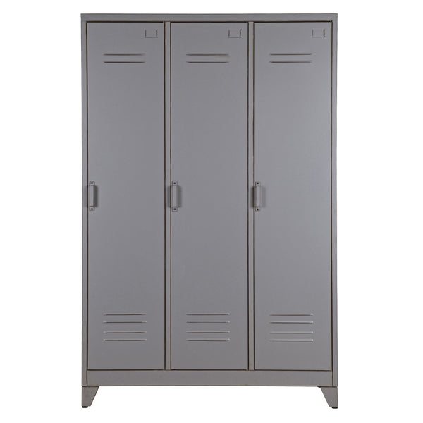 Metal Triple Door Locker