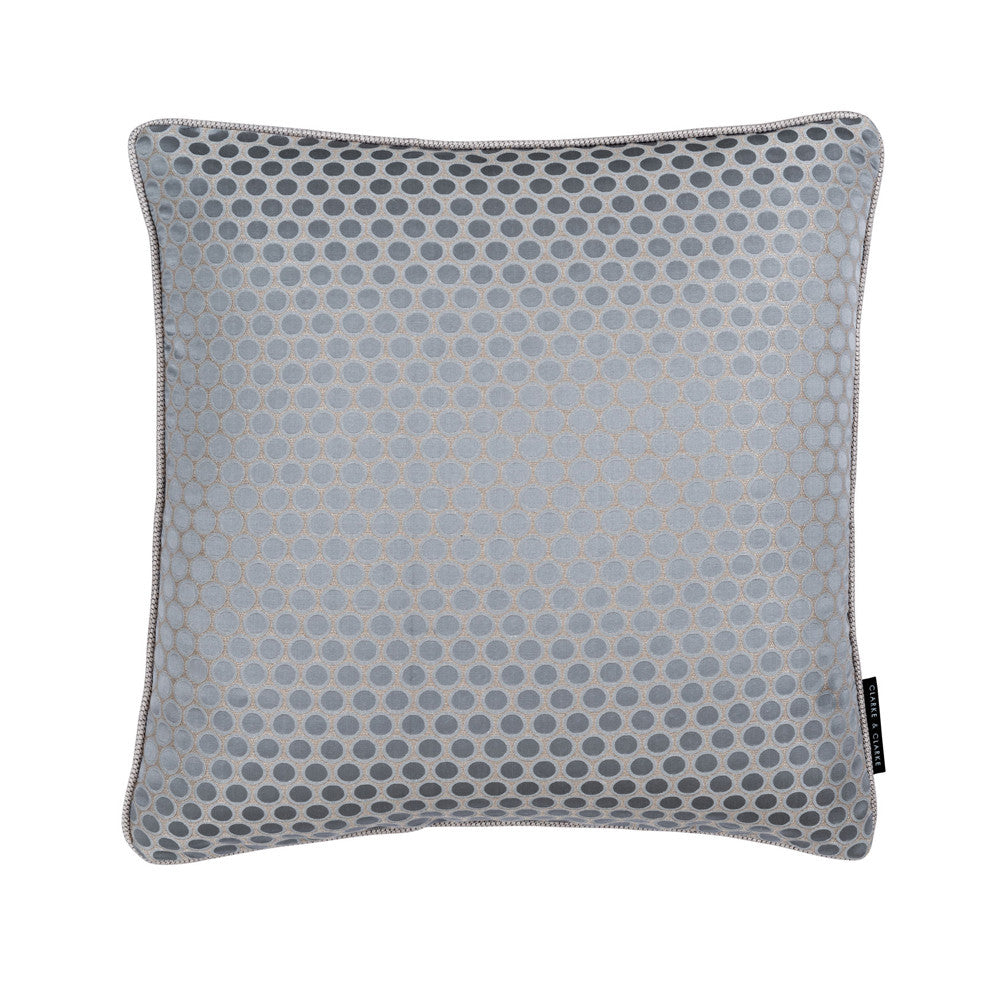 Metallic Jacquard Cushion