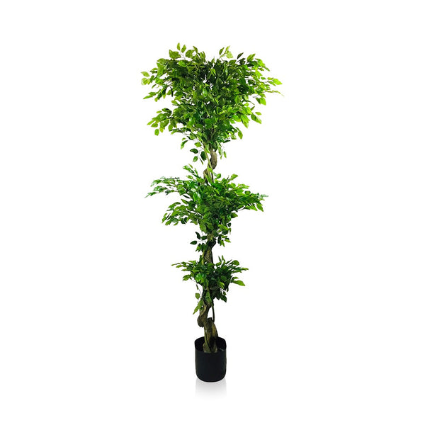 Artificial Ficus Leaf Topiary