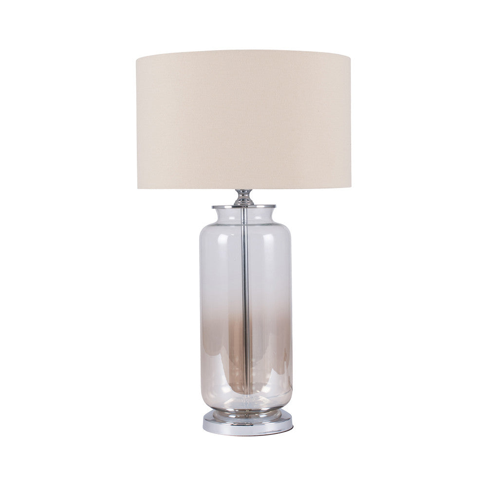 Lustre Ombre Glass Lamp