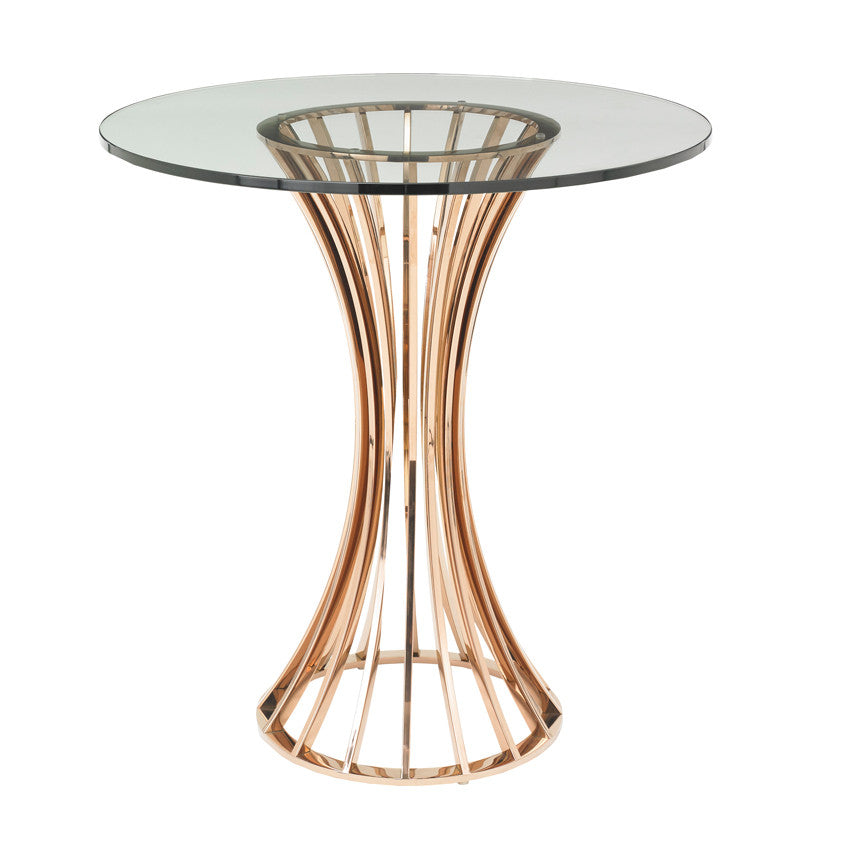 Rose Wire Side Table
