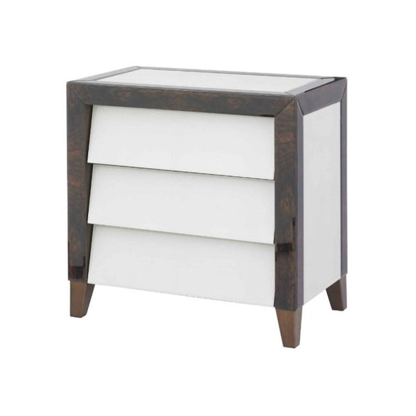Shagreen walnut  Bedside