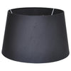 Silk Black Tapered Shade (40cm)