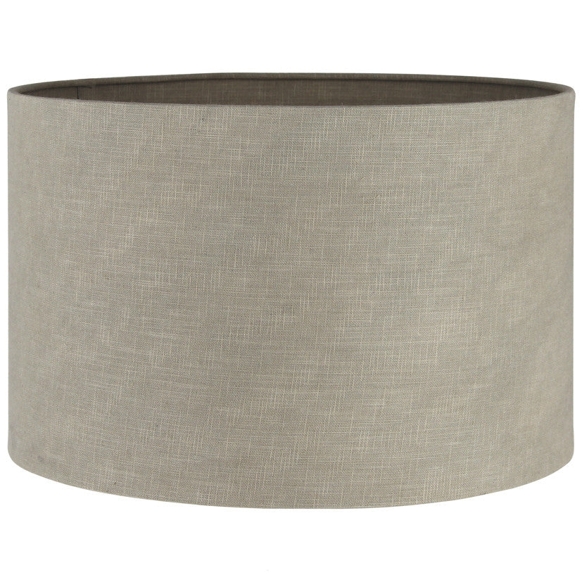 Taupe Linen Lamp Shade ( 30 cm )