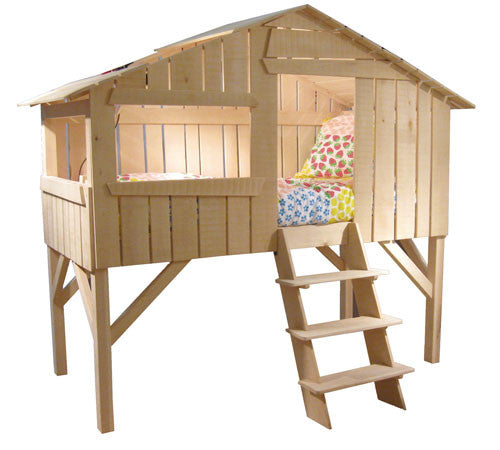 Tree House Bunk Bed in Pine