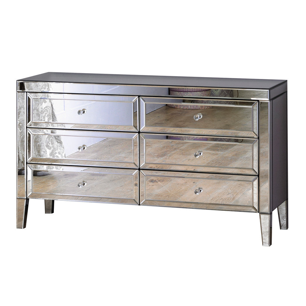 Venetian Mirrored Large Chest