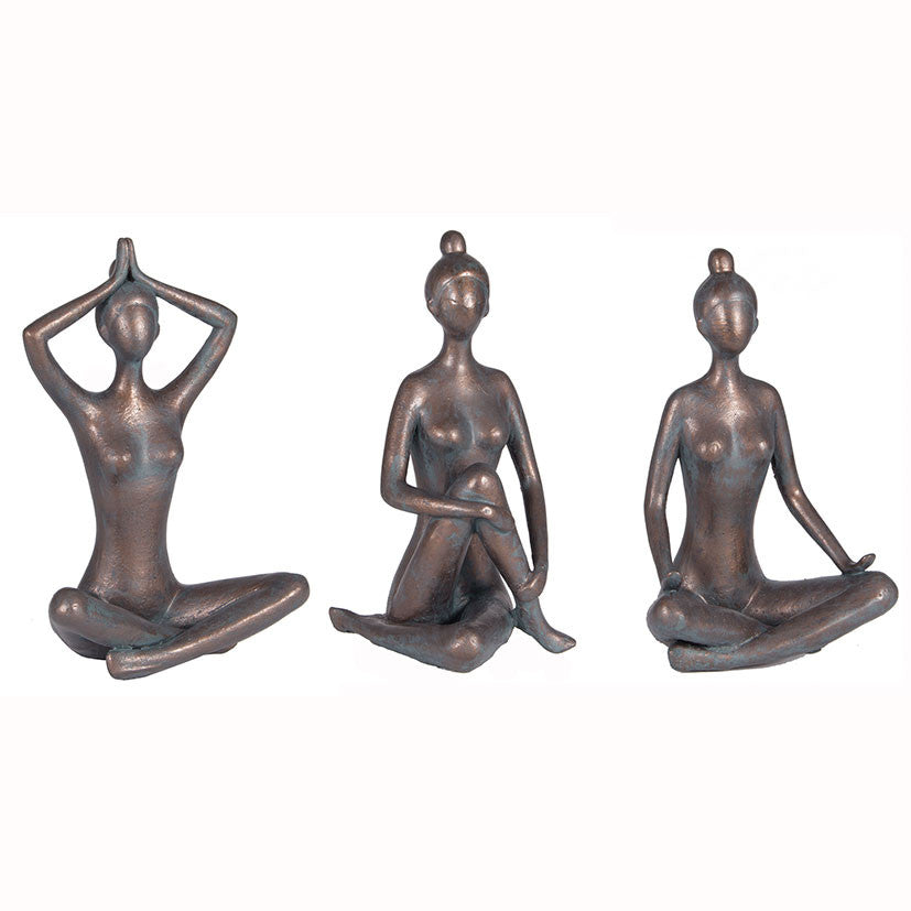Yoga Pose Figures