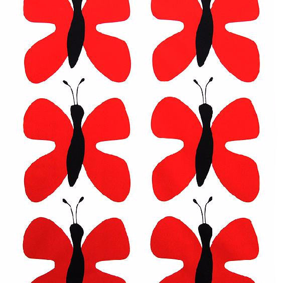 Fjaril (Butterfly) Red