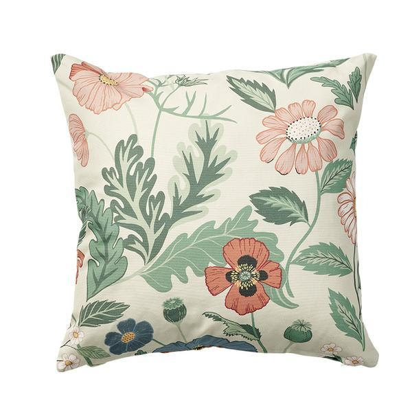 Bloom Creme 45x45cm Cotton Cushion Cover
