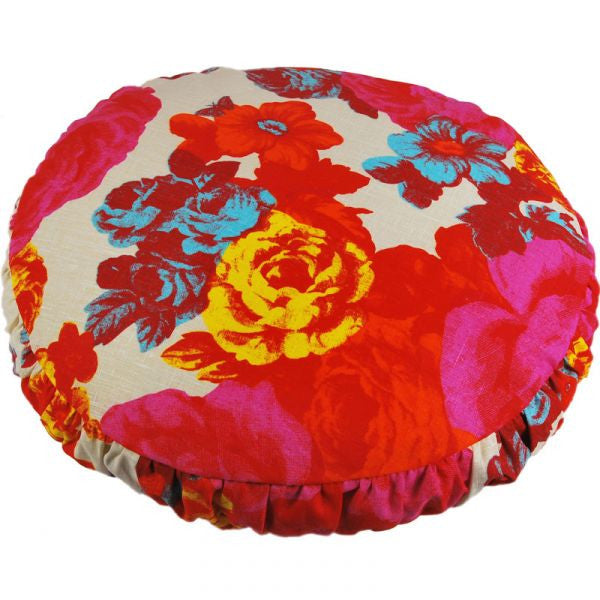 Baronessa Orange Round Cushion