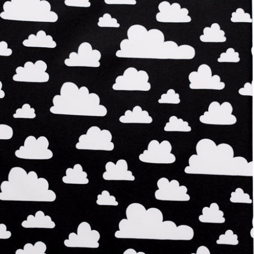 Clouds Black Remnant 152x102cm