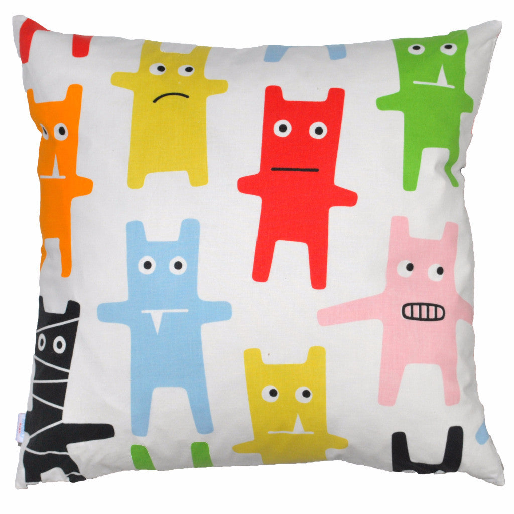 Monster 48x48cm Cotton Cushion Cover