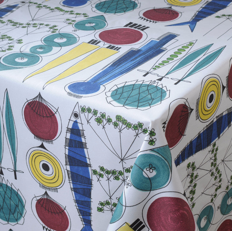 Picknick Oilcloth Remnant 145x149cm