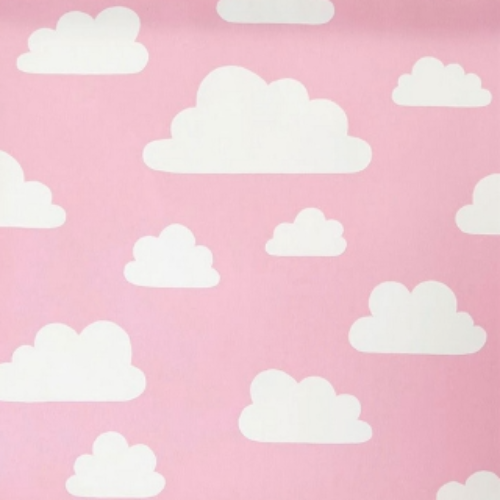 Clouds Pink Remnant 150x220cm