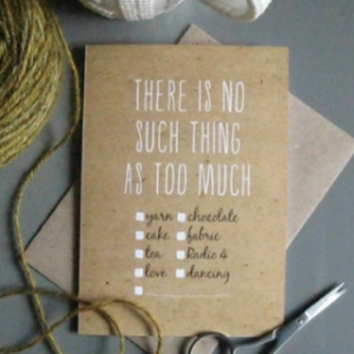 TillyFlopdesigns No Such Thing card