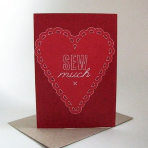 TillyFlopdesigns Sew Much card