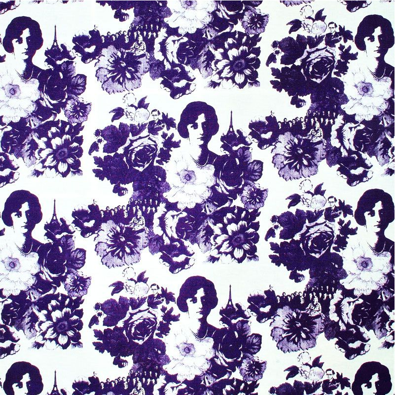Mademoiselle Lilac Remnant 148x154cm