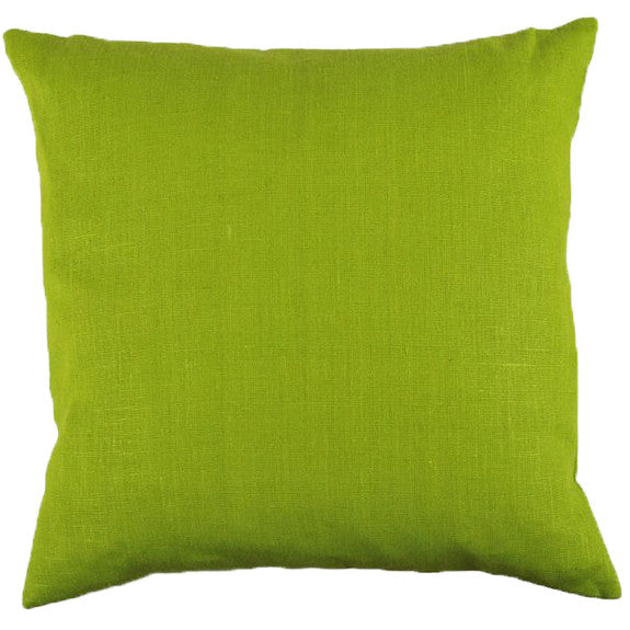 Green Linen Cushion Cover