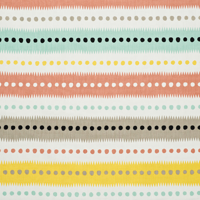 Stripe Dot White/Multi