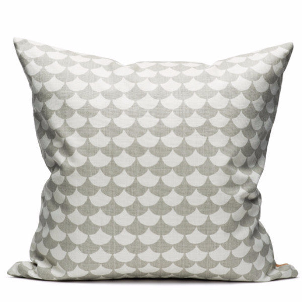 Waves Grey Cushion