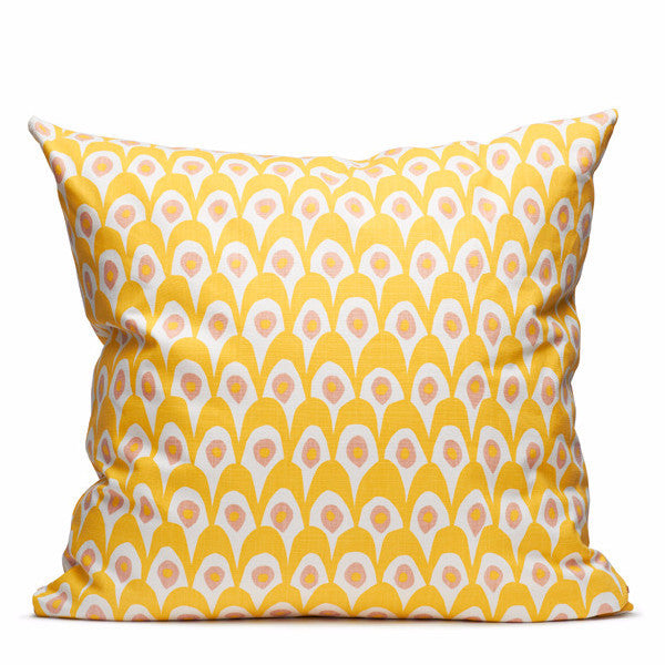 Circus Yellow Cushion