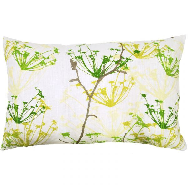 Ogras Green Cushion Cover