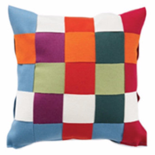 Twist Multi 45x45cm Merino Wool Cushion Cover