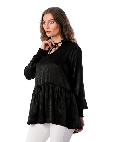 Women'S Plain Blouse بلوزة نسائية سادة - Dockland