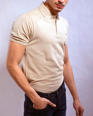 Plain Short Sleeve Polo