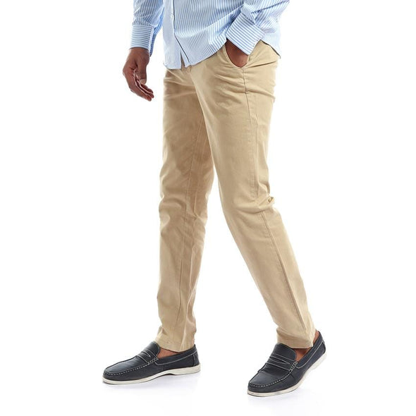 Chino Fly Zip Slim-fit pants - Dockland