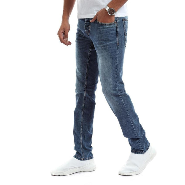 Slim Fit Casual dark Wash Jeans - Jeans - Dockland