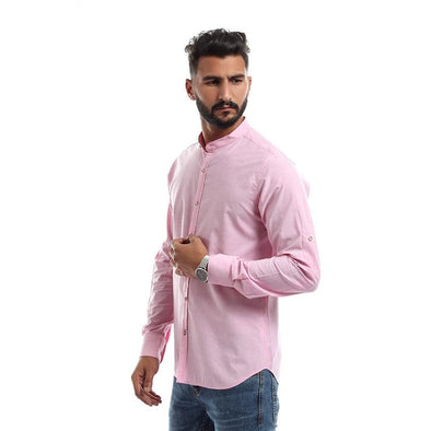Classic Slim Shirt - Pink - Dockland