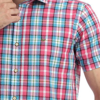 Checkered Short Sleeve Shirt