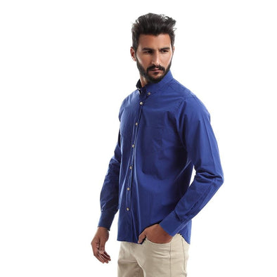 Plain Long Sleeve Shirt - Dockland