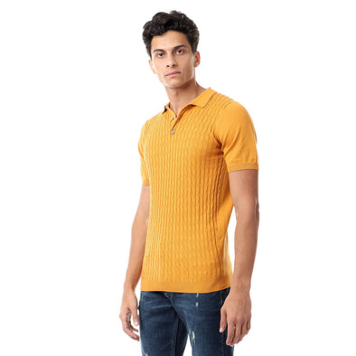 Knit Polo Shirt بولو شيرت تريكو - Dockland