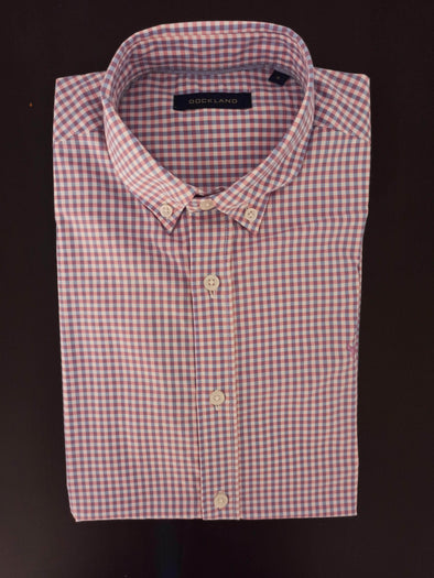 Mini Check Long sleeve shirt-Rose*Wh - Dockland