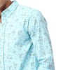 Hawaiian Patterned  Casual Long sleeves Shirt قميص هاوي بكم طويل صيفى - Dockland